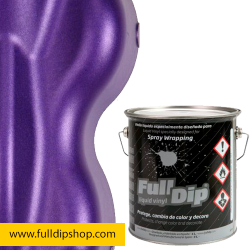 Full Dip Violeta Metalizado Vinilo 4 Litros