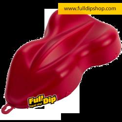 Full Dip Rojo Cereza Mate Vinilo Líquido 4 Litros