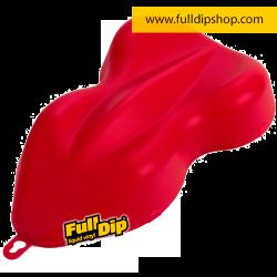 Full Dip Rojo Carmin Mate Vinilo Líquido 4 Litros